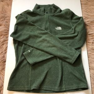 BARLEY WORN THE NORTH FACE QUARTER ZIP UP